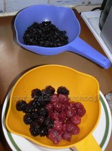 Layer cake, fruits rouges en verrines etape4