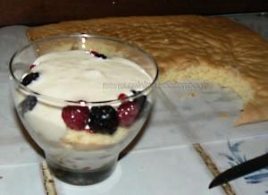 Layer cake, fruits rouges en verrines etape7