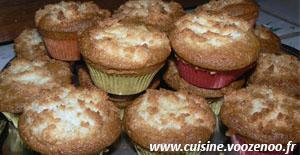 Muffins congolais