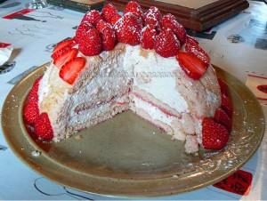 Charlotte aux fraises de christophe felder une cuisine - Jeux de charlotte aux fraises cuisine gateaux ...