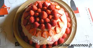 Charlotte aux fraises de Christophe Felder