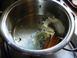Serbet aux épices etape1
