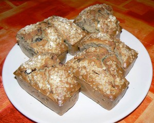 Mini-cakes bretons aux moules fin