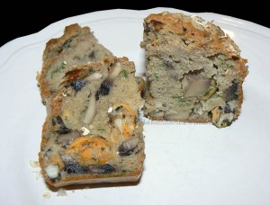 Mini-cakes bretons aux moules presentation