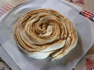 Tourbillon brioché au caramel de pommes etape7