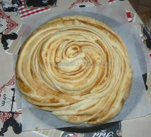 Tourbillon brioché au caramel de pommes etape8