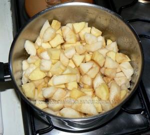 Cocottes de fruits d'automne en chaud et froid etape1