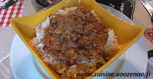 Chili con carne express une