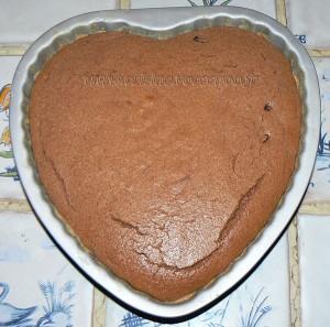 Moelleux au chocolat et ricotta fin