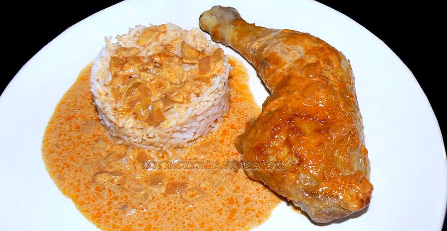 Cuisses de poulet au paprika en papillotes slider