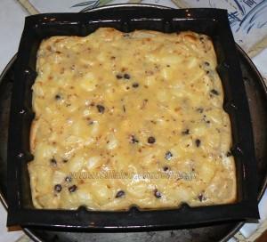 Carré aux poires, pralin et chocolat etape3