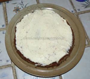 Gâteau au chocolat, finger et fruits rouges pour paques etape3
