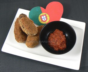 Croquettes de viande et bechamel à la portugaise fin