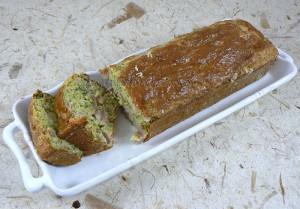 Cake aux fines herbes et jambon fin