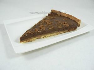 Tarte aux 2 chocolats, caramel et noix de pecan fin2