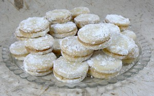 Vanilice - Biscuits Serbe au saindoux presentation