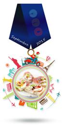 Médaille defi septembre 2015