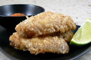Poulet frit de l'ile maurice slider