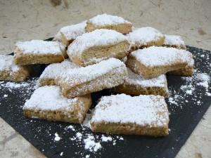 Biscuits au vin blanc presentation