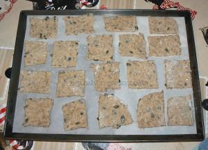 Knaekbrod, les crackers danois etape3