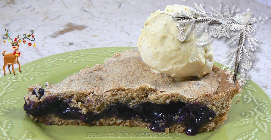 Mustikkakukko, tarte sablée aux myrtilles slider