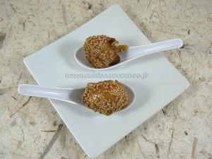 Beignets de banane caramelisées aux graines de sesame fin2
