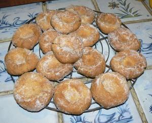 Biscuits empreintes au lemon curd fin