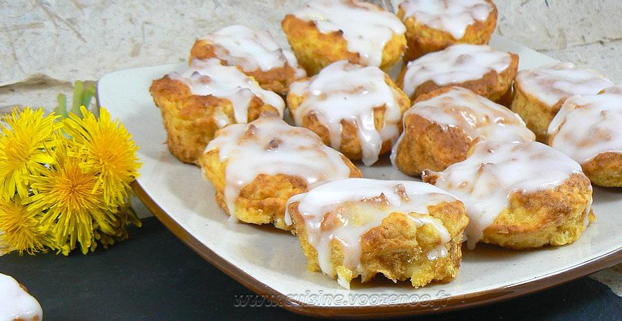 Muffins au citron et à la pomme de terre slider