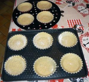 Tartelettes fraises - framboises gourmandes etape2