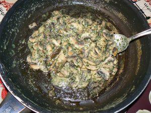 Mini-tartelettes aux champignons cremeux etape1