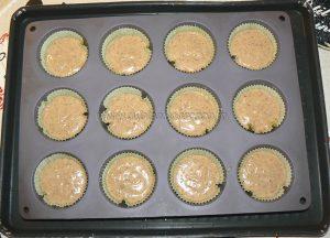 Cupcakes noix de pecan, topping creme de sirop d'erable etape4