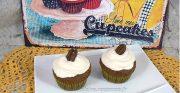 Cupcakes noix de pecan, topping crème de sirop d'érable