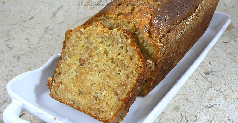 Cake à la ricotta, citron et pralin slider