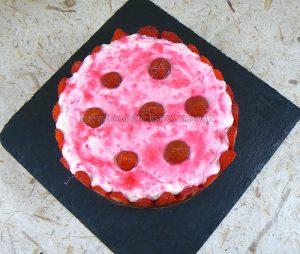 Tiramisu aux fraises fin