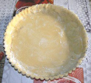 Tarte aux noix et caramel, glaçage à l'abricot étape3