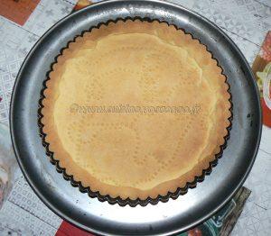 Tarte aux noix et caramel, glaçage à l'abricot étape4