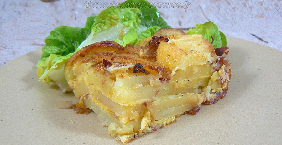 Tortilla de patata au jambon cru slider