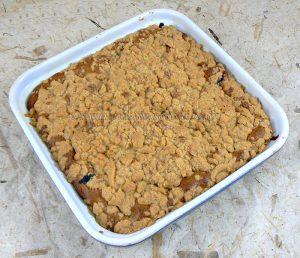 Biscuit croustillant à la myrtille fin