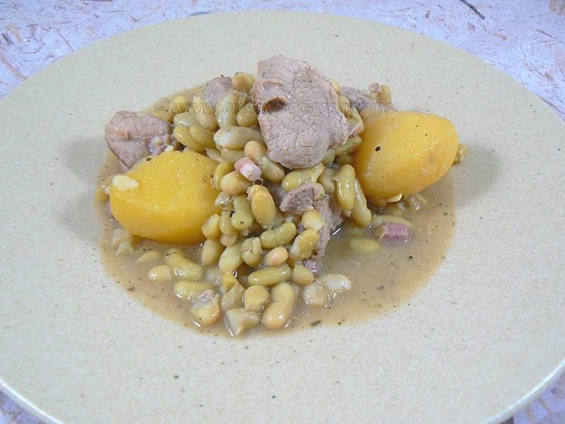 Saut de porc et dinde flageolets une cuisine pour voozenoo - Comment cuisiner des flageolets en boite ...