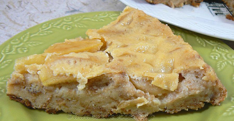 Tatin pudding aux pommes slider