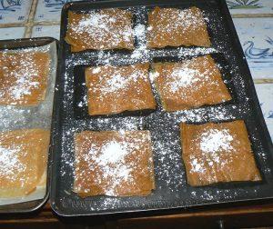 Millefeuille croustillant aux fraises, crème à la menthe etape4