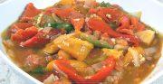 Salade de poivrons à l'algéroise