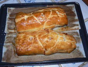 Filet mignon de porc en feuillete moutarde provençale etape6