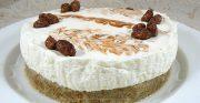 Cheesecake crémeux à l'églantine (sans cuisson)
