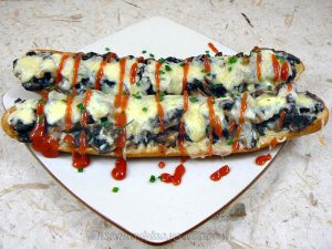 Zapiekanka, le sandwich Polonais fin2