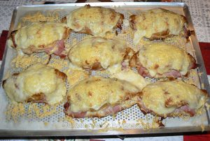 Croissants au jambon et béchamel etape2
