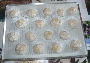 Merzapani ou macaron Corse etape6