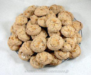 Merzapani ou macaron Corse fin