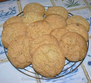 Soupe coco et ses croutons cookies etape2