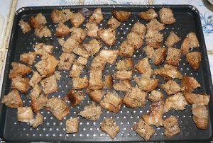 Blancs de poulet marinés en salade etape2